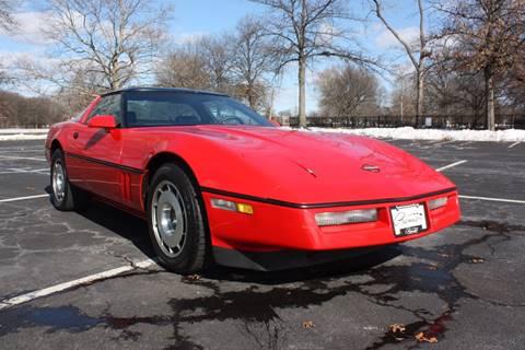 1986 Chevrolet Corvette for sale at Premier Automotive Group in Belleville NJ