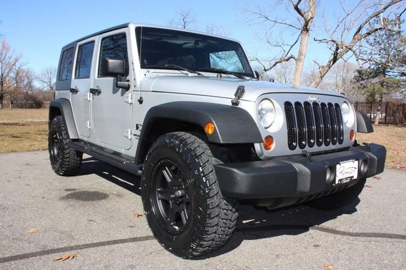 2008 Jeep Wrangler Unlimited for sale at Premier Automotive Group in Belleville NJ