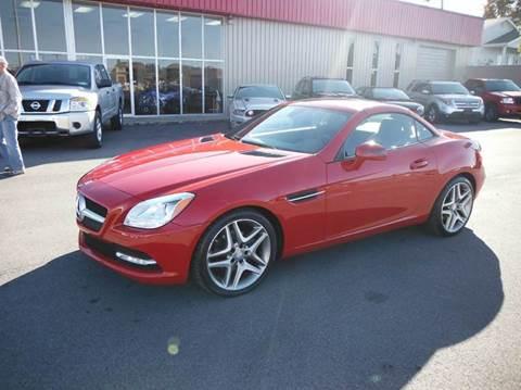2013 Mercedes-Benz SLK for sale at Affordable Automotive, LLC in Bristol TN