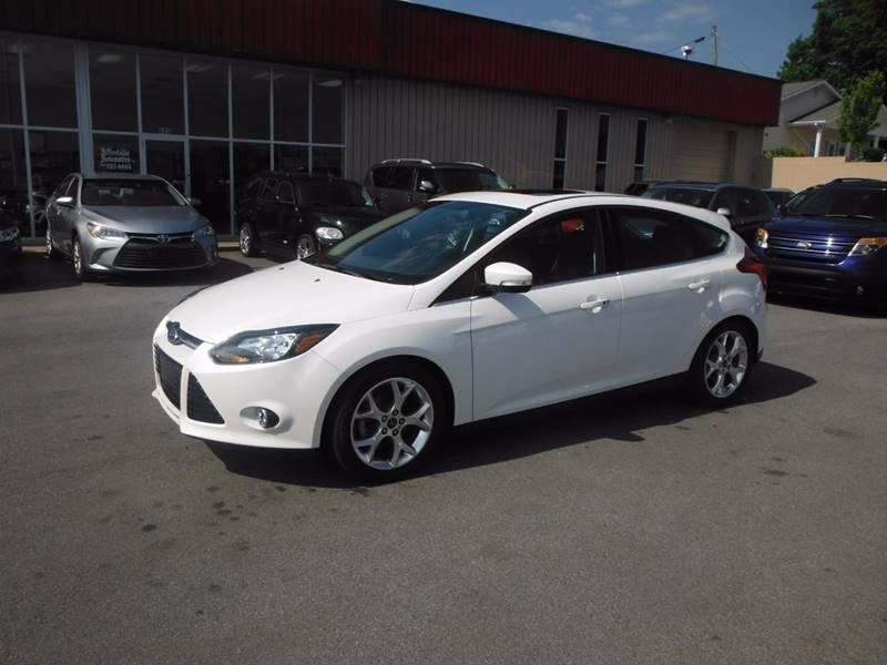 2014 ford focus titanium 4dr hatchback in bristol tn affordable automotive llc. Black Bedroom Furniture Sets. Home Design Ideas