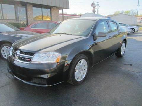 2014 Dodge Avenger for sale at Jacobs Auto Sales in Nashville TN