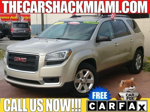 2015 GMC Acadia for sale in Hialeah, FL