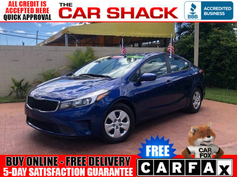 2018 Kia Forte for sale at The Car Shack in Hialeah FL
