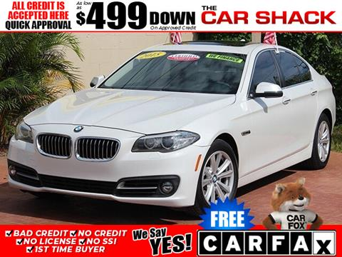 2015 BMW 5 Series for sale in Hialeah, FL