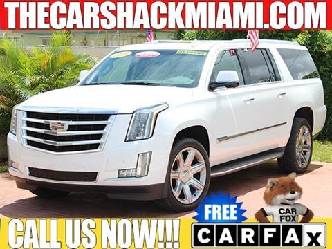 2016 Cadillac Escalade ESV for sale in Hialeah, FL