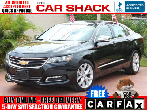 2018 Chevrolet Impala for sale at The Car Shack in Hialeah FL
