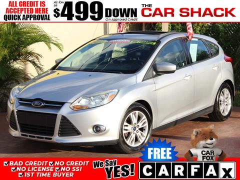 2012 Ford Focus for sale in Hialeah, FL