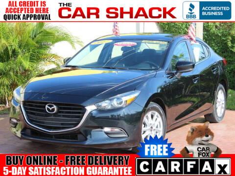 2017 Mazda MAZDA3 for sale at The Car Shack in Hialeah FL
