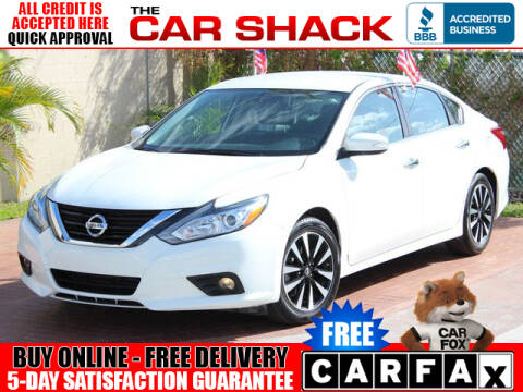 2018 Nissan Altima for sale at The Car Shack in Hialeah FL