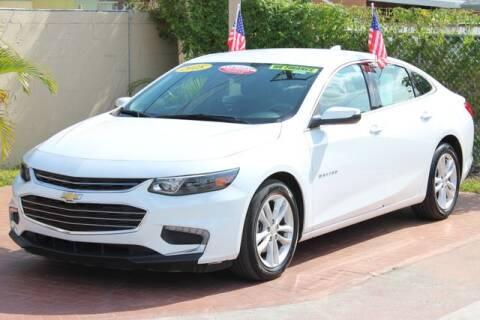 2018 Chevrolet Malibu LT for sale at The Car Shack in Hialeah FL