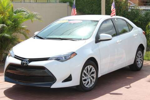 2017 Toyota Corolla for sale at The Car Shack in Hialeah FL