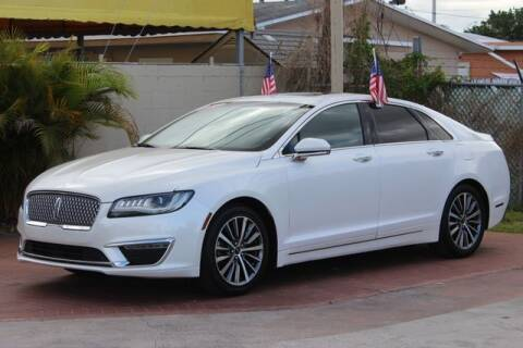 2017 Lincoln MKZ Select for sale at The Car Shack in Hialeah FL