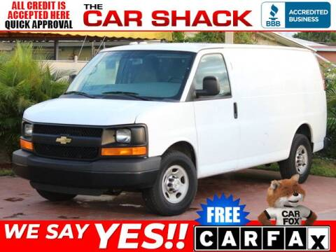 2014 Chevrolet Express Cargo 2500 for sale at The Car Shack in Hialeah FL