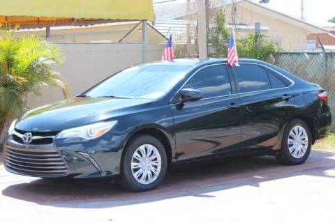 2015 Toyota Camry for sale at The Car Shack in Hialeah FL