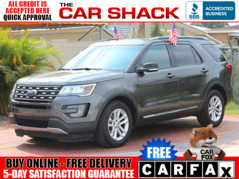 2016 Ford Explorer for sale at The Car Shack in Hialeah FL