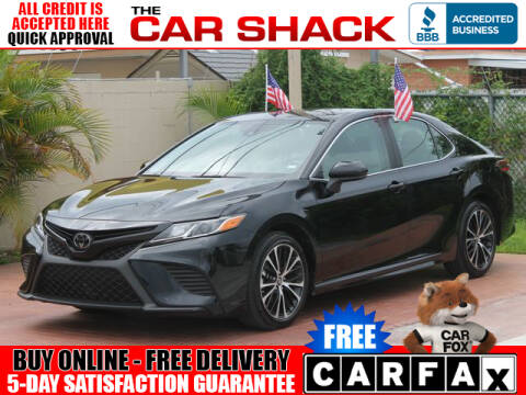 2019 Toyota Camry for sale at The Car Shack in Hialeah FL