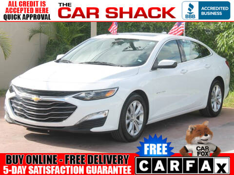 2019 Chevrolet Malibu for sale at The Car Shack in Hialeah FL