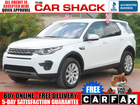 2018 Land Rover Discovery Sport for sale at The Car Shack in Hialeah FL