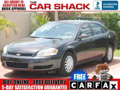 2008 Chevrolet Impala for sale at The Car Shack in Hialeah FL