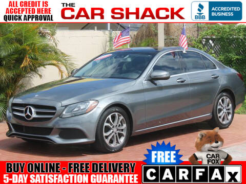 2017 Mercedes-Benz C-Class for sale at The Car Shack in Hialeah FL