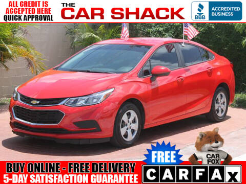 2018 Chevrolet Cruze for sale at The Car Shack in Hialeah FL