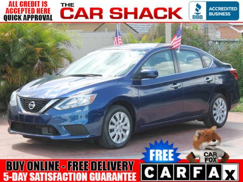 2018 Nissan Sentra for sale at The Car Shack in Hialeah FL