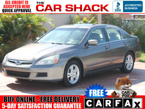 2007 Honda Accord for sale at The Car Shack in Hialeah FL