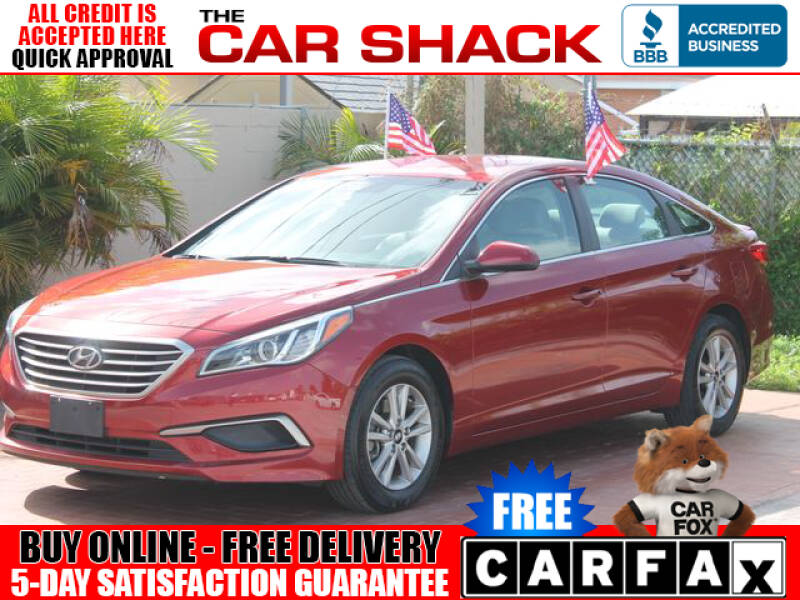 2016 Hyundai Sonata for sale at The Car Shack in Hialeah FL