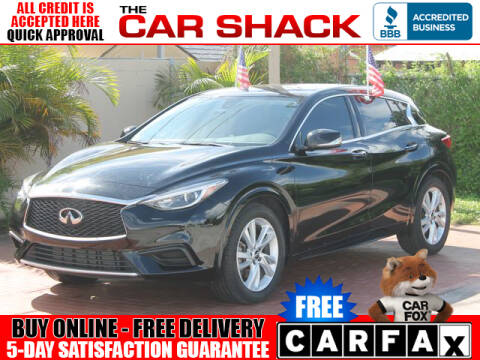 2018 Infiniti QX30 for sale at The Car Shack in Hialeah FL