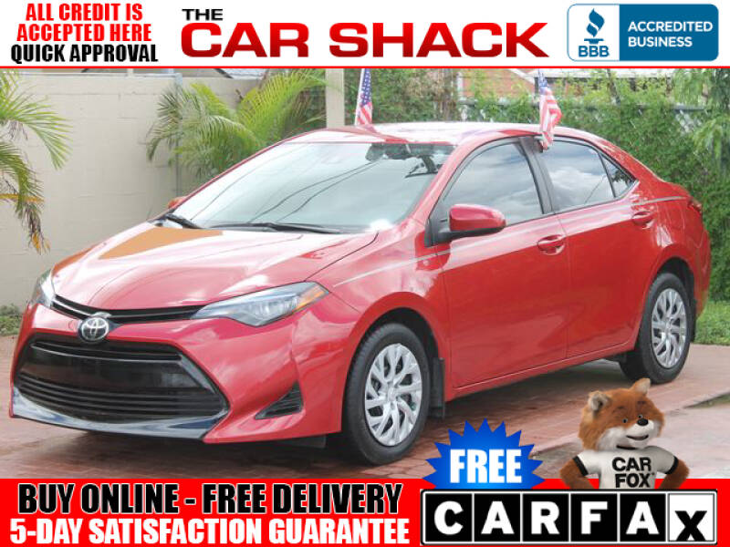 2019 Toyota Corolla for sale at The Car Shack in Hialeah FL