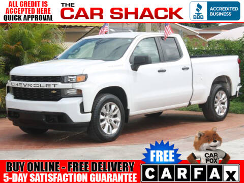 2019 Chevrolet Silverado 1500 for sale at The Car Shack in Hialeah FL