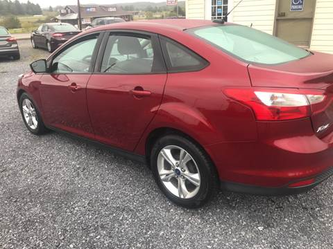 2013 Ford Focus for sale in Bedford, PA