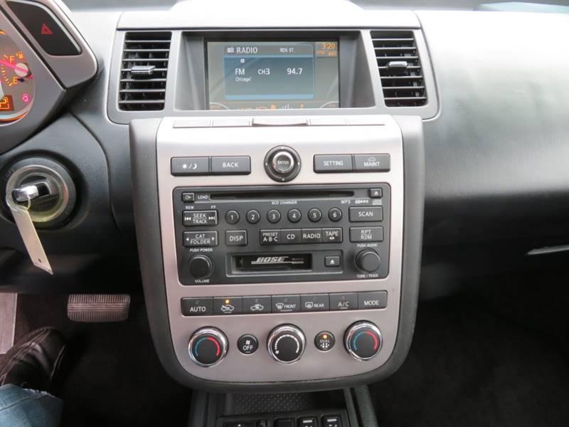 2006 Nissan Murano Awd Sl 4dr Suv In Hammond Bells Auto Salesrhbells219: 2006 Nissan Murano Radio At Gmaili.net