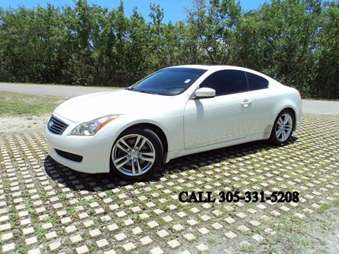 2010 Infiniti G37 Coupe for sale in Hollywood, FL