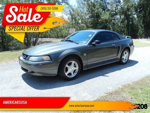 2004 Ford Mustang For Sale In Hollywood Fl
