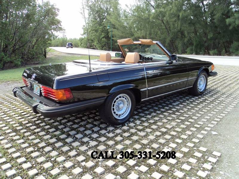 1980 Mercedes-Benz 450 SL  - Hollywood FL