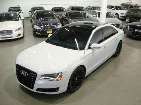 2014 Audi A8 for sale at Americarsusa in Hollywood FL