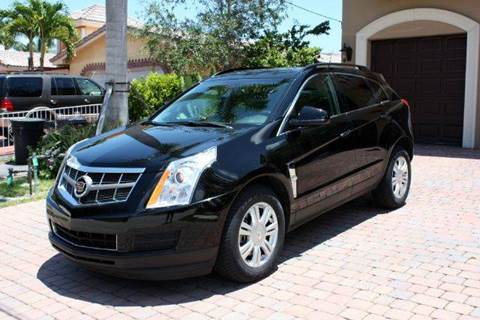2012 Cadillac SRX for sale at Americarsusa in Hollywood FL