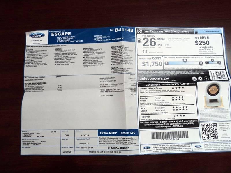 2016 Ford Escape SE 4dr SUV - Hollywood FL