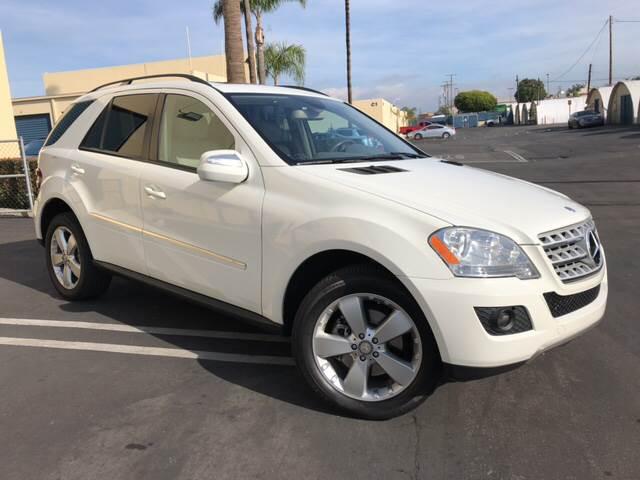 MercedesBenz MClass AWD ML MATIC Dr SUV In Costa Mesa - Mercedes benz dealers in orange county