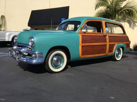 1951 Ford Country Squire for sale at MANGIONE MOTORS ORANGE COUNTY in Costa Mesa CA