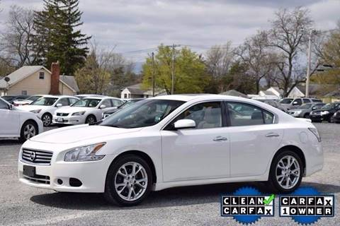 2014 Nissan Maxima for sale at Broadway Motor Car Inc. in Rensselaer NY