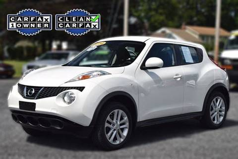 2014 Nissan JUKE for sale at Broadway Motor Car Inc. in Rensselaer NY