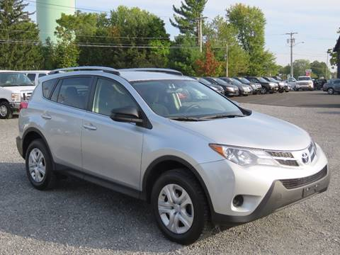2014 Toyota RAV4 for sale at Broadway Motor Car Inc. in Rensselaer NY