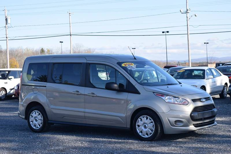 2014 ford transit connect wagon for sale at broadway motor car inc in rensselaer ny