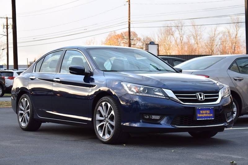 2015 Honda Accord For Sale At Broadway Motor Car Inc. In Rensselaer NY
