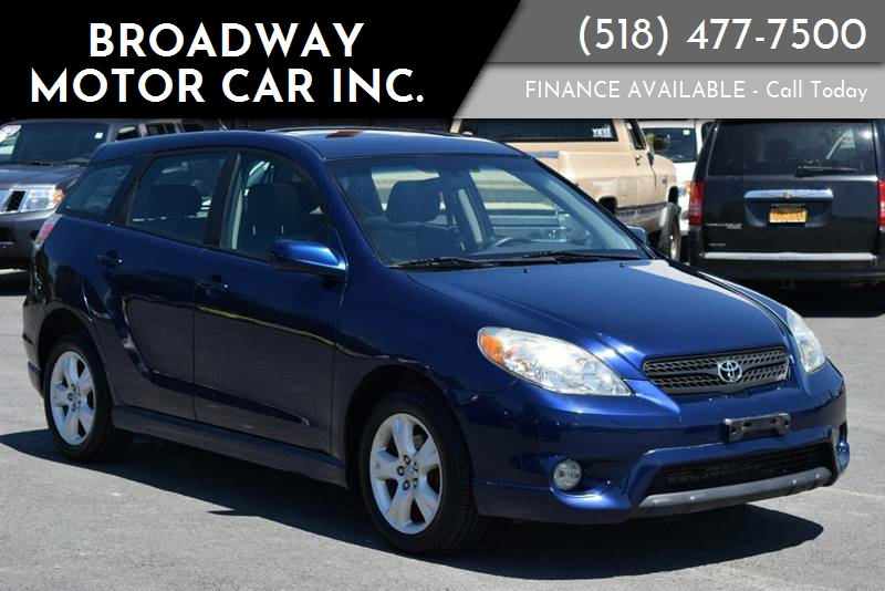 2005 Toyota Matrix For Sale At Broadway Motor Car Inc. In Rensselaer NY