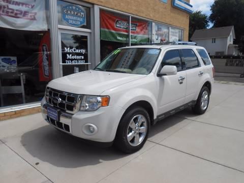 2011 Ford Escape for sale in Rock Rapids, IA