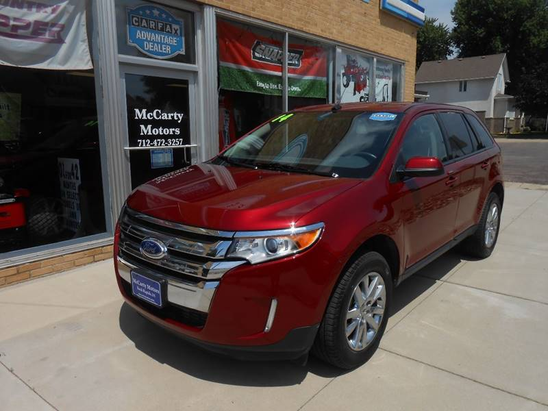 Ford Edge For Sale At Mccarty Motors In Rock Rapids Ia