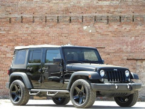 2016 Jeep Wrangler Unlimited for sale in Crystal Springs, MS